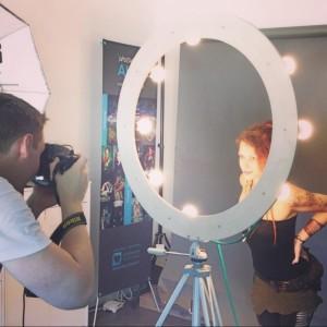 Fotoshooting im Agentur-Studio in Oberndorf b. Salzburg