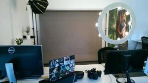 DIY Ringlicht im Agentur-Studio Oberndorf