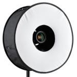 Ringlicht Diffusor/Softbox für Blitz von phorex