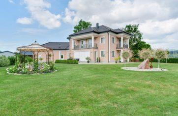Immobilien-Fotografie Außenanlage Einfamilienhaus