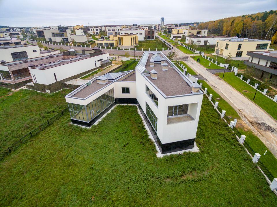 Luftaufnahme einer Immobilie