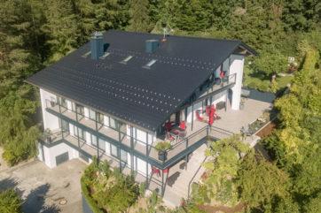 Drohnen Aufnahme Apartment Gebäude