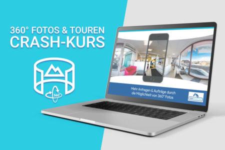 Onlinekurs zur 360° Fotos & Touren