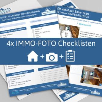 Immobilien Fotografie Checklisten