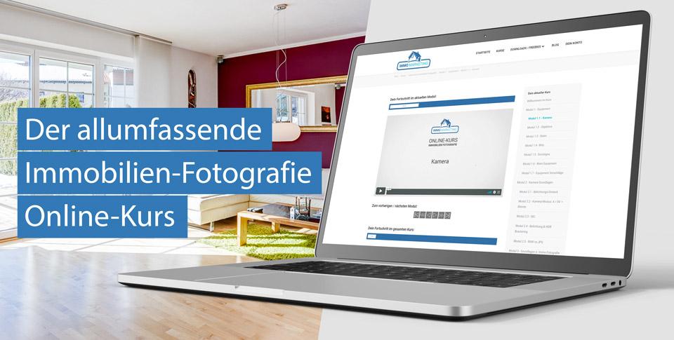 Online Kurs Immobilien Fotografie