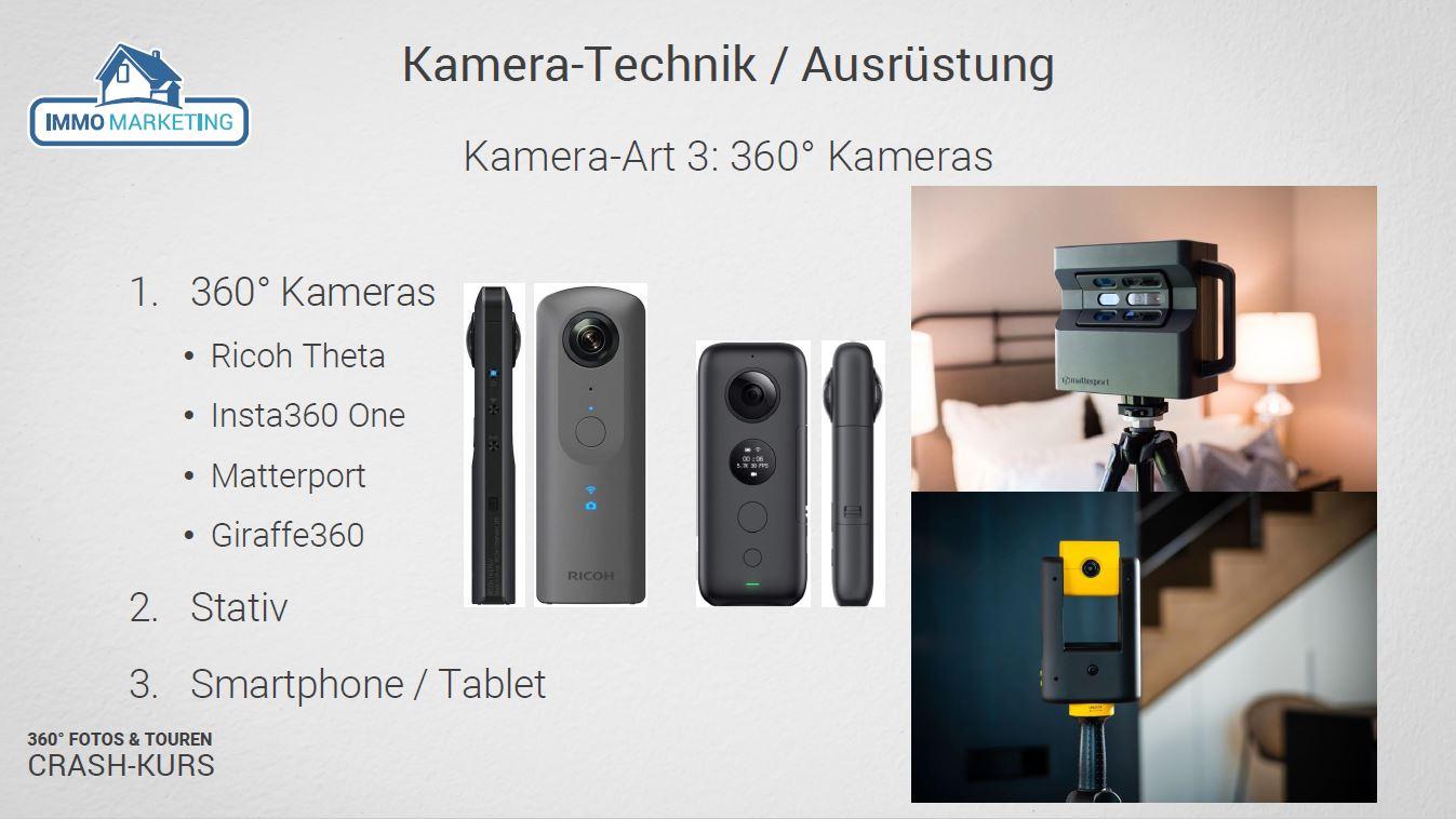 Modul 2 - 360° Kamera Arten